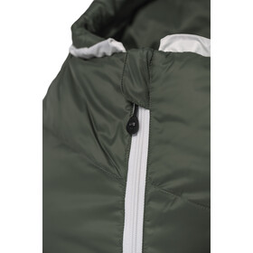 Grüezi-Bag Biopod DownWool Summer 185 Sacco a pelo, verde